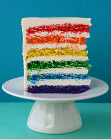 martha stewart whisk kid rainbow cake