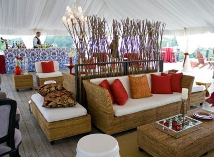 Room Service Wedding Rental. #4 Outdoor Room Decor