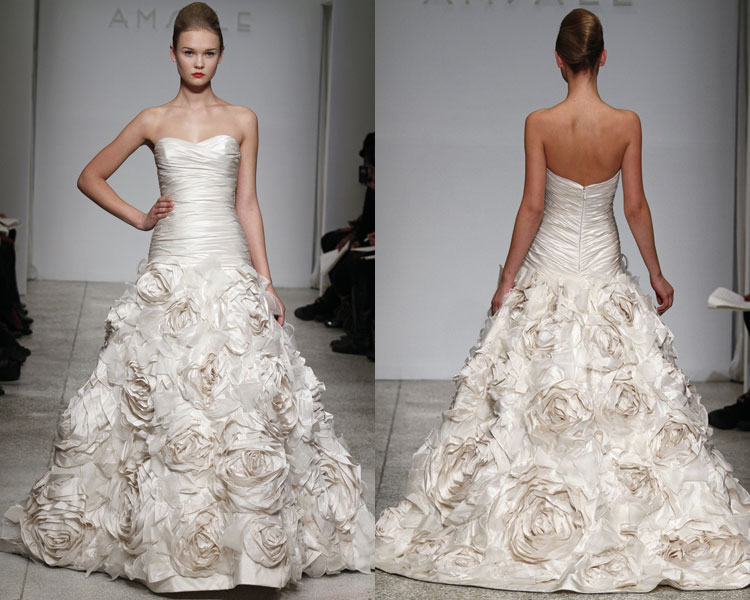 The Style Savvy Bride: Fall 2010 Wedding Dresses: Amsale