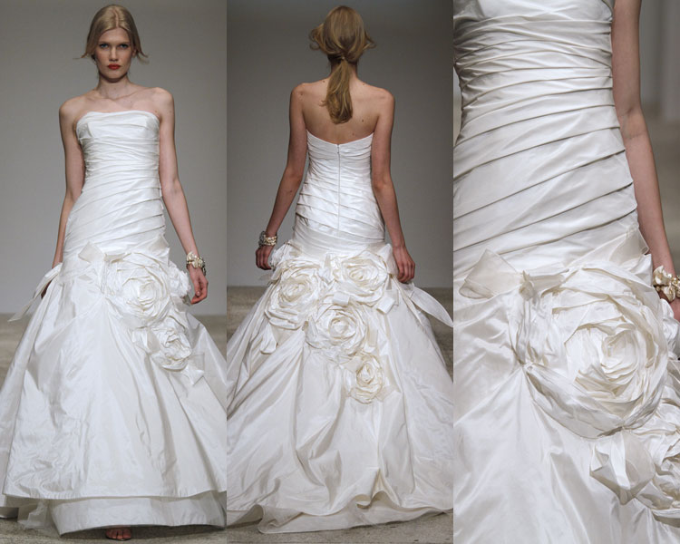 The style savvy bride fall 2010 wedding dresses amsale amsale analisa 1 junglespirit Image collections